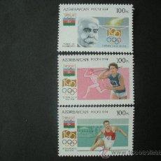 Sellos: AZERBAIJAN 1994 IVERT 192/4 *** CENTENARIO DEL COMITE OLIMPICO INTERNACIONAL - DEPORTES. Lote 34039643