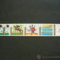 Sellos: TURKMENISTAN 1993 IVERT 25/9 *** JUEGOS OLIMPICOS DE BARCELONA - DEPORTES. Lote 37203337