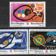 Sellos: EDIFIL 3134, JUEGOS OLIMPICOS BARCELONA, VII SERIE PREOLIMPICA, NUEVO ***. Lote 195099177