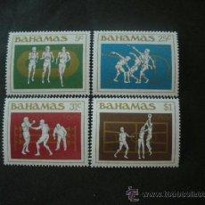 Sellos: BAHAMAS 1984 IVERT 559/62 *** JUEGOS OLIMPICOS DE LOS ANGELES - DEPORTES. Lote 39045160