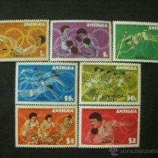 Sellos: BARBUDA 1976 IVERT 274/80 *** JUEGOS OLIMPICOS DE MONTREAL - DEPORTES. Lote 41575650