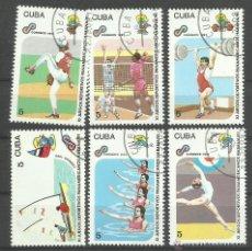 Sellos: CUBA 1991 LOTE DE SELLOS JUEGOS PANAMERICANOS HABANA 91- PREOLIMPICO- OLIMPIADAS. Lote 44807731
