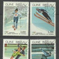Sellos: GUINEA 1984 LOTE SELLOS OLIMPIADAS DE INVIERNO SARAJEVO 84- JUEGOS OLIMPICOS. Lote 44929869