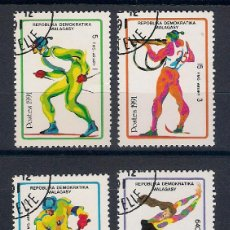 Sellos: OLIMPIADA DE INVIERNO: ALBERTVILLE´92 . MADAGASCAR. AÑO 1991. Lote 47931894
