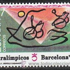 Sellos: EDIFIL 3192, JUEGOS PARALIMPICOS, NUEVO ***. Lote 195093337