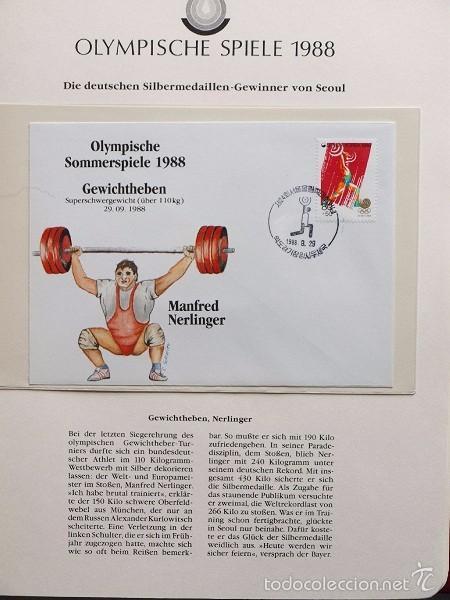 Sellos: ALBUM II DE SELLOS DE LUJO CONMEMORATIVO DE LAS OLIMPIADAS SEUL 88 - JUEGOS OLIMPICOS- FDC - Foto 3 - 57398162