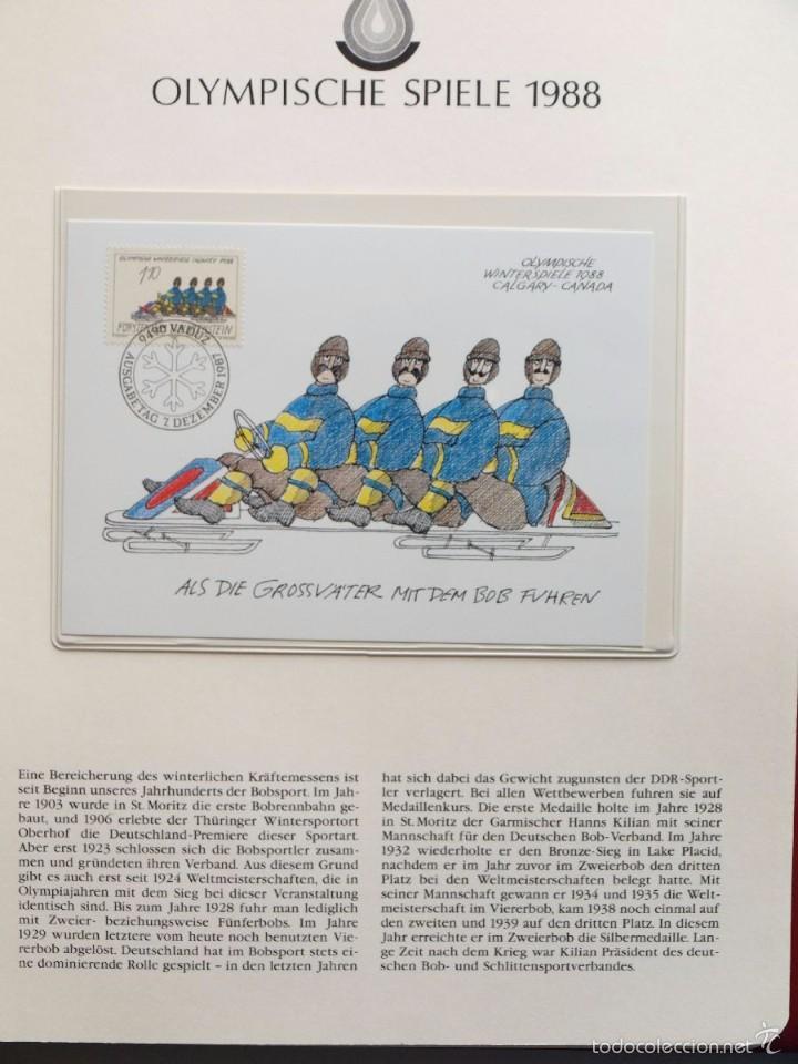 Sellos: ALBUM II DE SELLOS DE LUJO CONMEMORATIVO DE LAS OLIMPIADAS SEUL 88 - JUEGOS OLIMPICOS- FDC - Foto 20 - 57398162