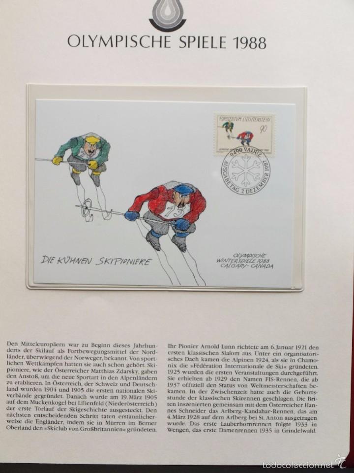 Sellos: ALBUM II DE SELLOS DE LUJO CONMEMORATIVO DE LAS OLIMPIADAS SEUL 88 - JUEGOS OLIMPICOS- FDC - Foto 21 - 57398162
