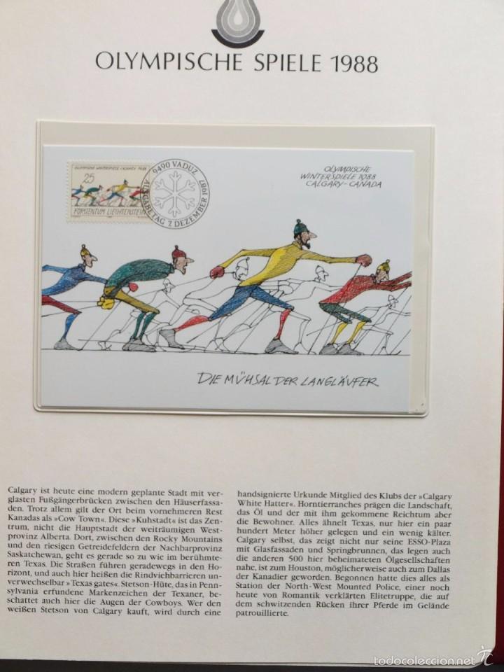 Sellos: ALBUM II DE SELLOS DE LUJO CONMEMORATIVO DE LAS OLIMPIADAS SEUL 88 - JUEGOS OLIMPICOS- FDC - Foto 22 - 57398162