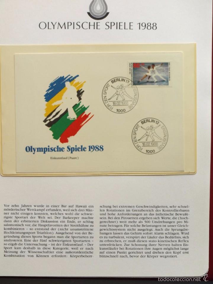 Sellos: ALBUM II DE SELLOS DE LUJO CONMEMORATIVO DE LAS OLIMPIADAS SEUL 88 - JUEGOS OLIMPICOS- FDC - Foto 28 - 57398162