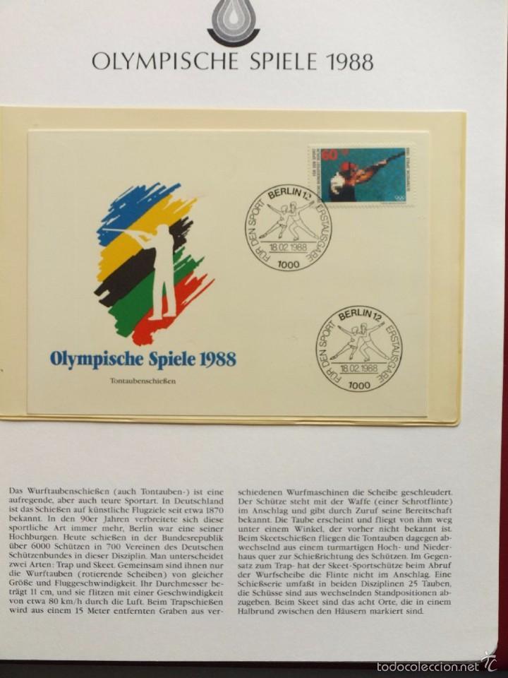 Sellos: ALBUM II DE SELLOS DE LUJO CONMEMORATIVO DE LAS OLIMPIADAS SEUL 88 - JUEGOS OLIMPICOS- FDC - Foto 29 - 57398162
