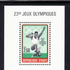 Sellos: HAITI HB 43** - AÑO 1984 - JUEGOS OLÍMPICOS, LOS ANGELES 1984. Lote 58490388