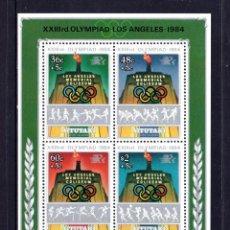 Sellos: AITUTAKI HB 49** - AÑO 1984 - JUEGOS OLÍMPICOS, LOS ÁNGELES 84. Lote 60829095