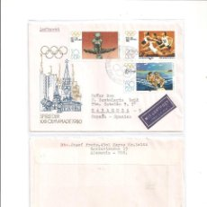 Sellos: ALEMANIA ORIENTAL. DEPORTES. JUEGOS OLIMPICOS MOSCU 1980**. Lote 76663083