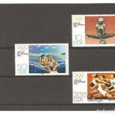 Sellos: ALEMANIA ORIENTAL. DEPORTES. JUEGOS OLIMPICOS MOSCU 1980**. Lote 76663455