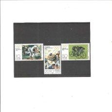 Sellos: ALEMANIA ORIENTAL. DEPORTES. JUEGOS OLIMPICOS MOSCU 1980**. Lote 76663651