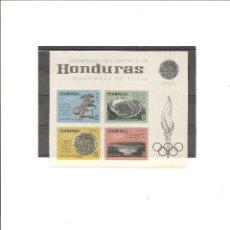 Sellos: HONDURAS. JUEGOS OLIMPICOS TOKIO 1964. S/D**. Lote 78512205