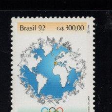 Sellos: BRASIL 2060** - AÑO 1992 - JUEGOS OLÍMPICOS, BARCELONA 92. Lote 78733349