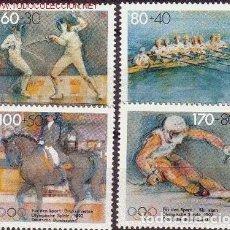 Sellos: ALEMANIA 1992 - JUEGOS OLIMPICOS DE BARCELONA 92. Lote 91131600