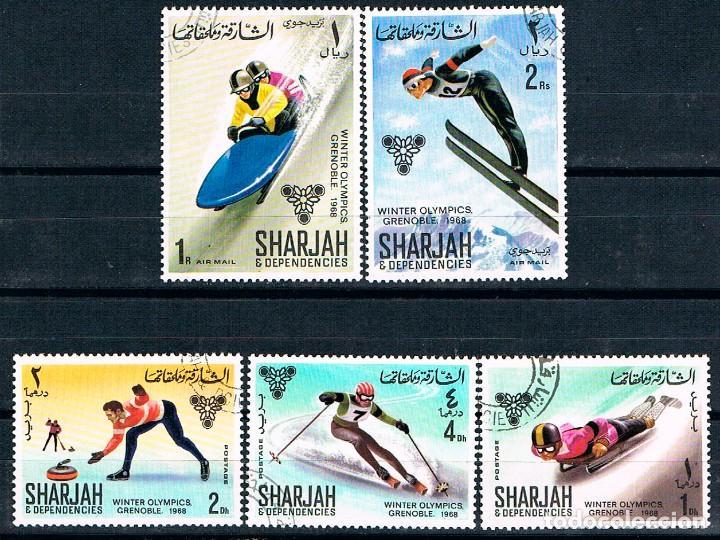 Sharjah Emiratos Arabes 407 11 Juegos Olimpi Comprar Sellos De
