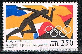 FRANCIA IVERT Nº 2745, JUEGOS OLIMPICOS DE BARCELONA, NUEVO *** (Sellos - Temáticas - Olimpiadas)