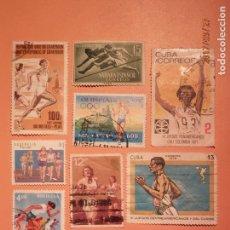 Sellos: ATLETISMO - CARRERAS - OLIMPIADAS - DEPORTES. Lote 98959371