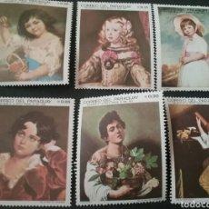 Sellos: SELLOS DE PARAGUAY NUEVOS. 1968. NIÑOS. INFANCIA. PINTURAS. MEXICO. OLIMPIADAS. JUEGOS. ARTE.. Lote 101134631