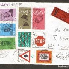Sellos: ALEMANIA FEDERAL.1968. MI Nº 561/565.+ 658,664,666,667. SPIELE 1968. OLIMPIADA.. Lote 221754743