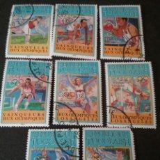 Sellos: SELLOS DE TOGO (TOGOLAISE) MTDOS. 1984. MEDALLISTAS. ATLETAS. GUEGOS. LOS ANGELES. ESGRIMA.BOXEO.S. Lote 111222532