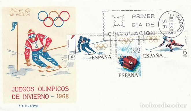 Edifil 1851 3 Juegos Olimpicos De Invierno En Comprar Sellos De
