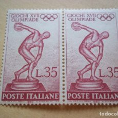 Sellos: SELLOS ANTIGUO ITALIA 1960 XVII OLIMPIADE NUEVOS CON GOMA. Lote 115509695