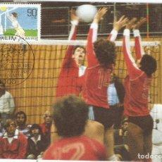 Sellos: ALEMANIA . 1982. MÁXIMA. VOLEIBOL. Lote 118093099