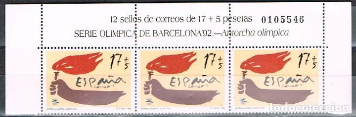 Edifil 3213 Juegos Olimpicos Barcelona 1992 A Comprar Sellos De