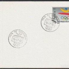 Sellos: AÑO 1992, SEDES OLIMPICAS, VILA DE MONTIGALA, JUEGOS OLIMPICOS DE BARCELONA 92. Lote 131352130