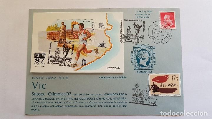EXFILNA 87 (Sellos - Temáticas - Olimpiadas)