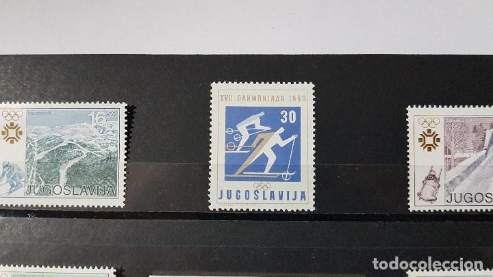 Sellos: LOTE YUGOSLAVIA - AÑO 1983 - JUEGOS OLÍMPICOS DE INVIERNO, SARAJEVO 84, MAS 1 DE 1960. - Foto 2 - 142816302
