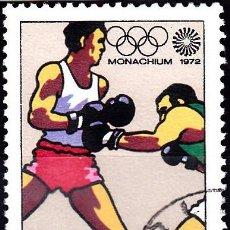 Sellos: 1972 - POLONIA - JUEGOS OLIMPICOS DE MUNICH - BOXEO - YVERT 1997. Lote 144067774