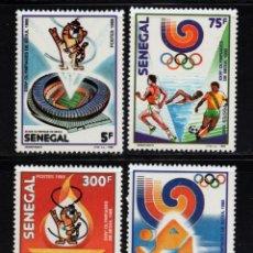 Sellos: SENEGAL 768/71** - AÑO 1988 - JUEGOS OLIMPICOS DE SEUL. Lote 148191010
