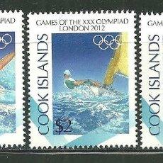 Sellos: COOK 2012 SC 1413/15 *** JUEGOS OLIMPICOS DE LONDRES - DEPORTES. Lote 150952518