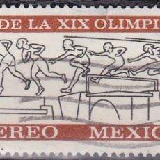 Sellos: 1966 - MEXICO - JUEGOS OLIMPICOS 1968 - CARRERA DE OBSTACULOS - YVERT PA 270. Lote 151152166