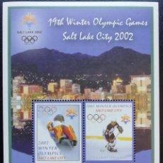 Sellos: 2002. DEPORTES. MICRONESIA. HB 112. NUEVO. OLIMPIADAS SALT LAKE CITY.. Lote 153737126