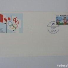 Sellos: SOBRE. OLIMPIADAS DE MONTREAL. CANADA. ATLETISMO. 1976. Lote 154324318