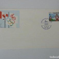 Sellos: SOBRE. OLIMPIADAS DE MONTREAL. CANADA. VELA. 1976. Lote 154324862