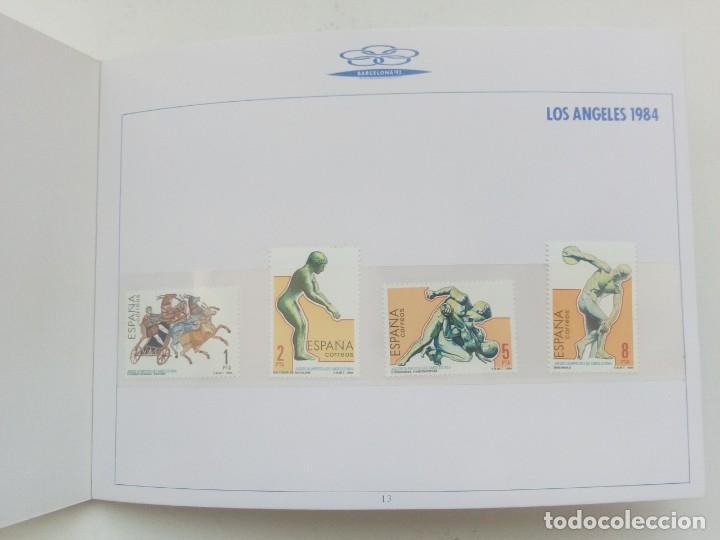Sellos: ALBUM DE SELLOS LOS ANGELES 84 EN CONMEMORACIÓN JUEGOS OLIMPICOS BARCELONA 92 - Foto 6 - 160592082