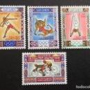 Sellos: ARGELIA Nº YVERT 545/8*** AÑO 1972. JUEGOS OLIMPICOS DE MUNICH. Lote 165410174