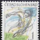 Sellos: 1992. DEPORTES. CHECOSLOVAQUIA. 2924. JUEGOS OLÍMPICOS BARCELONA. TENIS MESA. SERIE COMPLETA. NUEVO.. Lote 166914124