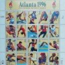 Sellos: 1996. DEPORTES. EE.UU. 2490 / 2509. DISCIPLINAS OLÍMPICAS JJ.OO. ATLANTA. EXTRAORDINARIO CONJUNTO.. Lote 167145400