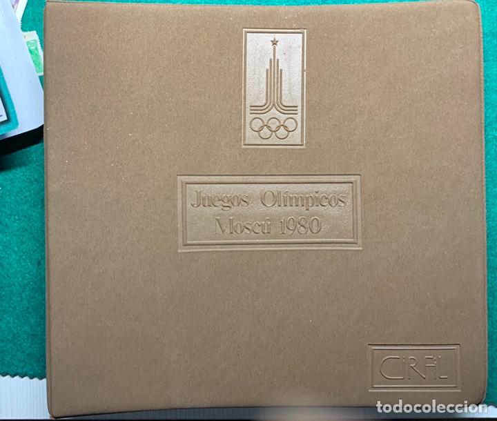 Sellos: COLECCIÓN 38 SOBRES PRIMER DÍA OLIMPIADAS MOSCÚ 1980 EN ALBÚM PARA LA EDICIÓN - Foto 21 - 167632050