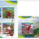 Sellos: SOLOMON ISLANDS 2016 - RIO 2016 SUMMER GAMES M/S + S/S OFFICIAL ISSUE MNH. Lote 169362036