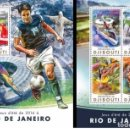 Sellos: DJIBOUTI 2016 - RIO 2016 SUMMER GAMES OFFICIAL ISSUE STAMP SET MNH. Lote 169362288